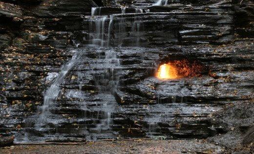 Eternal Flame Falls