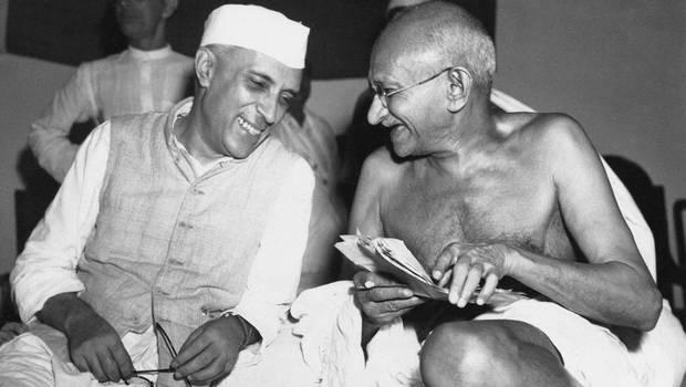 gandhi nehru