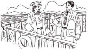व्यापारी तथा जहाज का कप्तान - शिक्षाप्रद कहानी