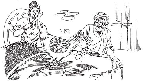 सोने के अंडे देने वाली मुर्गी - दादी नानी की कहानी