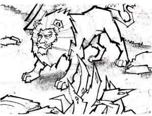 शेर के लालच का नतीजा - पंचतंत्र की कहानी