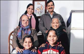 kejriwal family