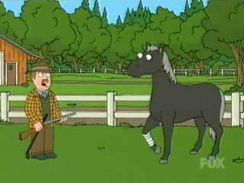 घोड़े की आजादी