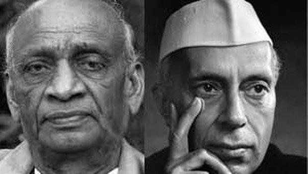 Patel Nehru Controversy in congres mouthpiece Mumbai