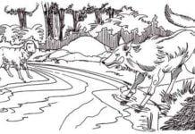 भेड़िया और मेमना - बच्चों की कहानियाँ Bhediya aur memna bachchon ki kahani