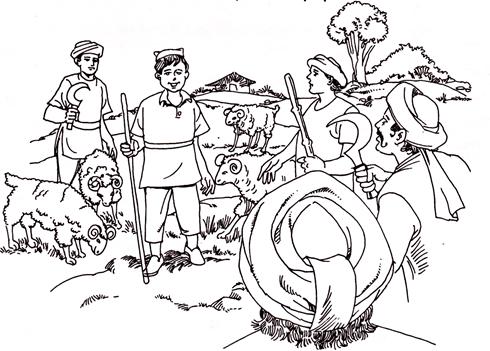 भेडि़या आया भेडि़या आया - शिक्षाप्रद कहानियाँ, Bhediya aaya Bhediya aaya kahani
