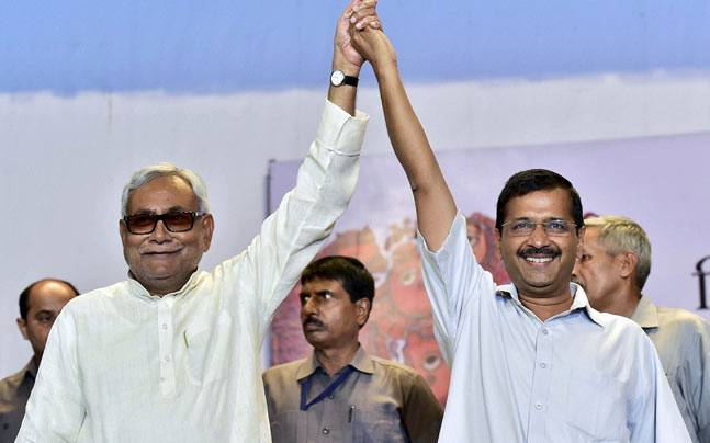 Arvind Kejriwal obstacle for Nitish Kumar's Prime Minister ambitions