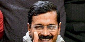 arvind kejriwal thumbs up