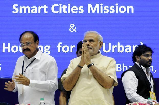 modi government announces 20 smart cities list