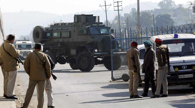 Militant attacks in Pathankot