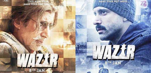 wajir film review in Hindi