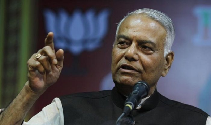 yashvant sinha says modi is heading towards emergency