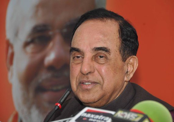 Congres worker oppose subramanian swami in kanpur terrorist leader of bjp