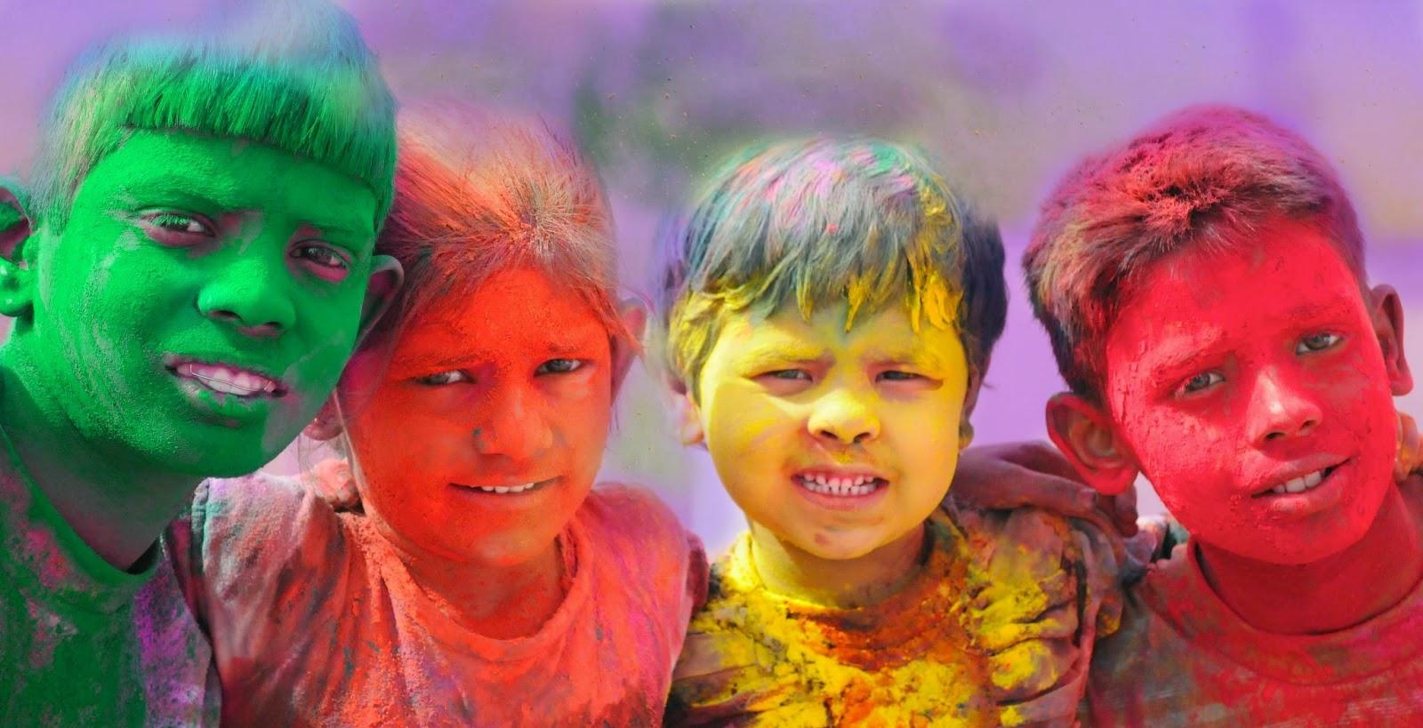 Essay on Holi par nibandh