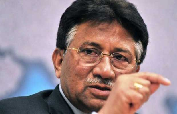 General Musharraf says Hafiz sayeed is a Pakistan Hero