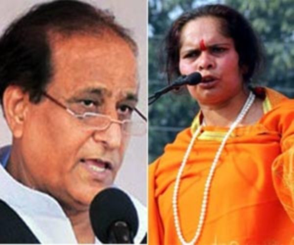 AZAM KHAN LOVES SADHVI PRACHI