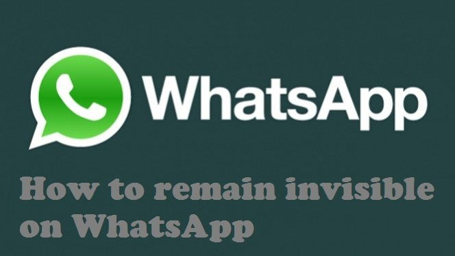 how to remain invisible on whattsapp in Hindi