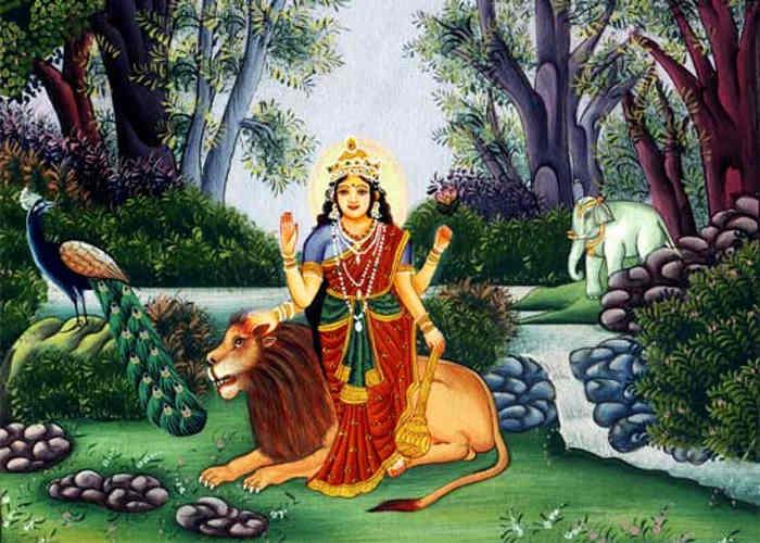 Maa Durga ka vahan Sher kyon hai?