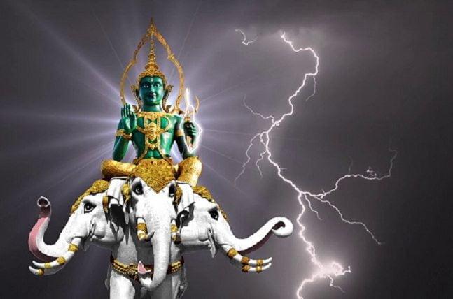 Indra Ka vahan safed hathi Eravat