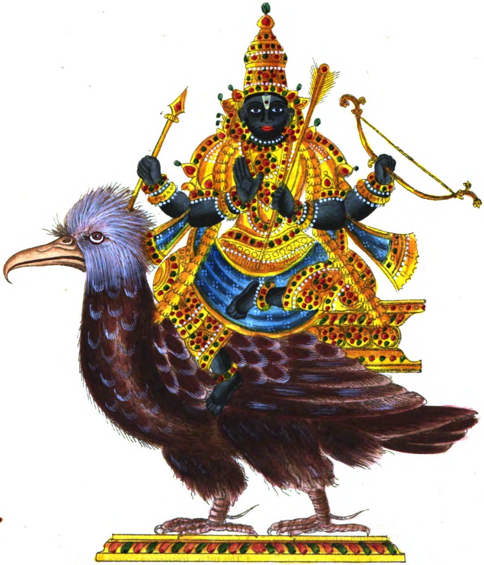Shani ke vahan ka prabhav