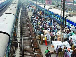 essay on railway station ka drishya
