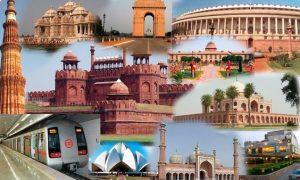 Short Essay on Indian capital Delhi in Hindi