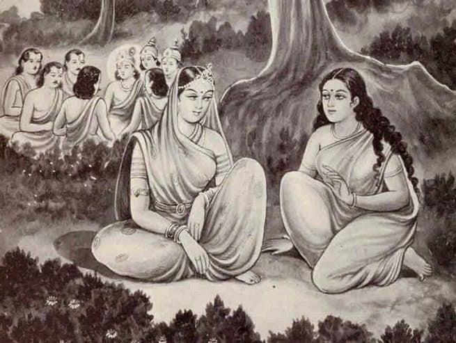 Droupadi Ne Satyabhama Ko Bataye The Safal Aur Sukhi Shaadishuda Jivan Ke Sutra