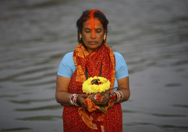 Chhath Vrat Katha in Hindi.