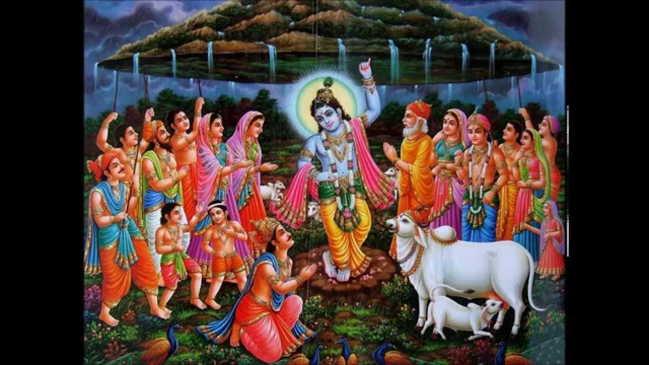 Govardhan Puja Katha in Hindi