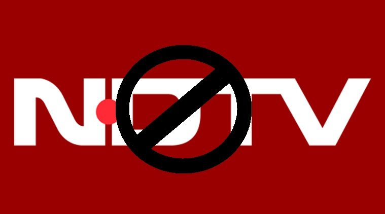 bjp government may ban ndtv india for one day for pathankot airforce base coverage