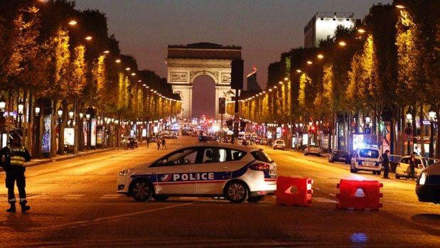 राष्ट्रपति चुनाव से पहले पेरिस में हुआ आतंकी हमला