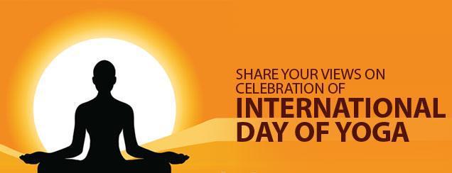21 जून को है अंतर्राष्ट्रीय योग दिवस