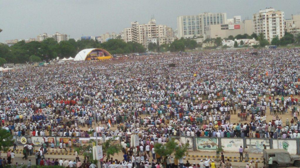 कोटा मुद्दे पर भाजपा या कांग्रेस के साथ वार्ता के लिए तैयार: हार्दिक पटेल