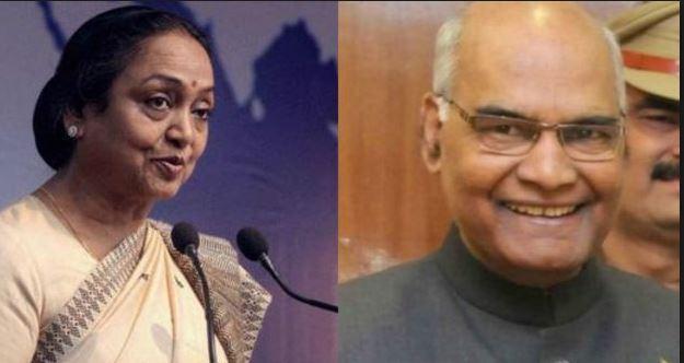 विपक्ष के राष्ट्रपति पद के उम्मीदवार मीरा कुमार आज अपना नामांकन करेंगी दर्ज