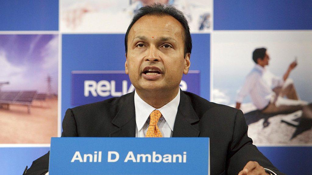 Anil Ambani, chairman of Reliance Power Ltd.,