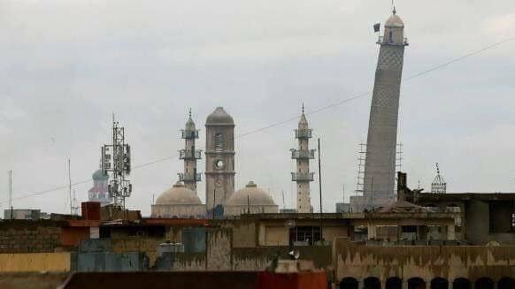 IS ने मोसुल में 840 वर्षीय अल-नुरी मस्जिद को किया नष्ट