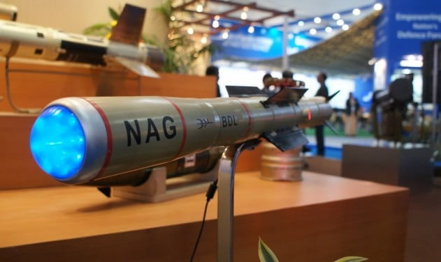 nag anti tank guided missile