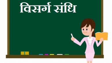 Visarg Sandhi ki Paribhasha