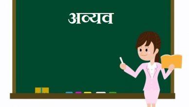 Avyav in Hindi