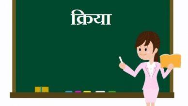 Kriya in Hindi